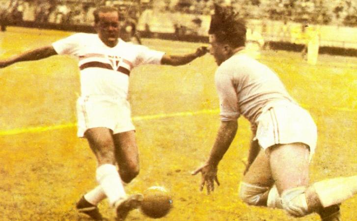 Leônidas da Silva jogou no São Paulo de 1942 a 1950