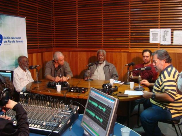 Nelson Sargento na Rádio Nacional do Rio