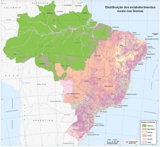 Mapa de Biomas