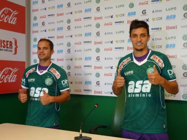 Ewerton Maradona e Léo Costa reforçam o meio-campo do Guarani
