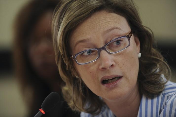 Maria do Rosário, ministra da Secretaria de Direitos Humanos da Presidência da República