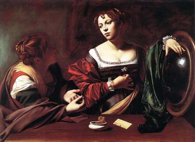 Marta e Maria Madalena, de Caravaggio
