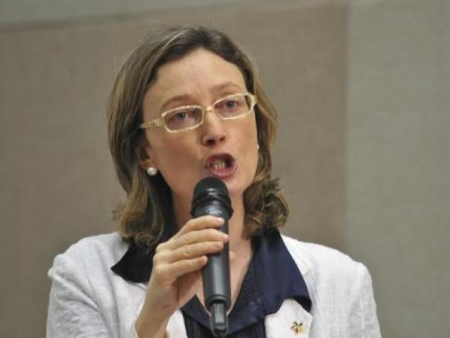 Ministra da Secretaria de Direitos Humanos, Maria do Rosário