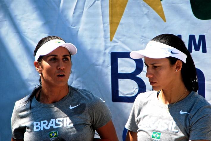 Maria Elisa e Talita, do vôlei de praia