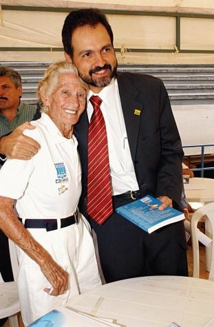 Maria Lenk e Agnelo