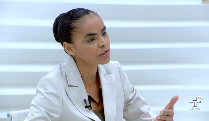 Marina Silva é candidata à Presidência pelo PSB