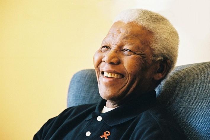 Nelson Mandela em foto de 2004
