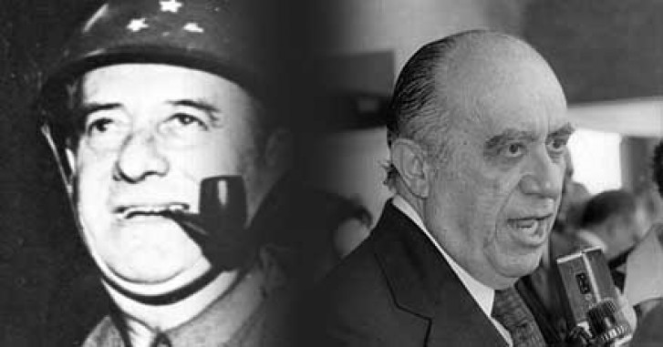 General Mourão e o deputado Armando Falcão