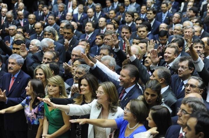 Mulheres na política congresso nacional deputadas