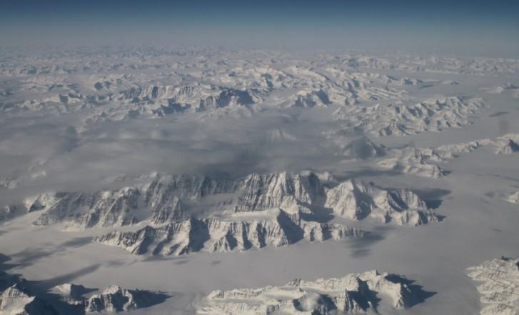 Mar de gelo na Groenlândia aquecimento global