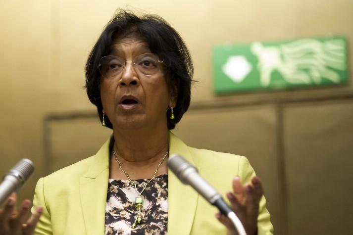 Navi Pillay, comissária de direitos humanos da ONU