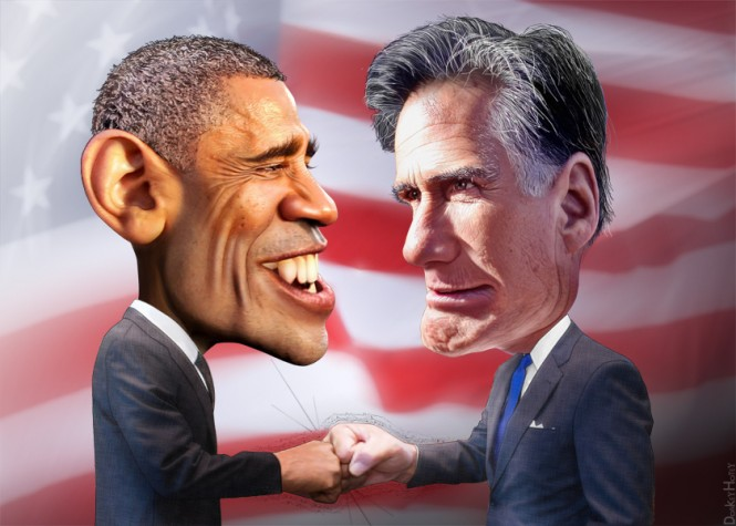 Obama e Romney - 4