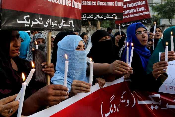 Luto no Paquistão