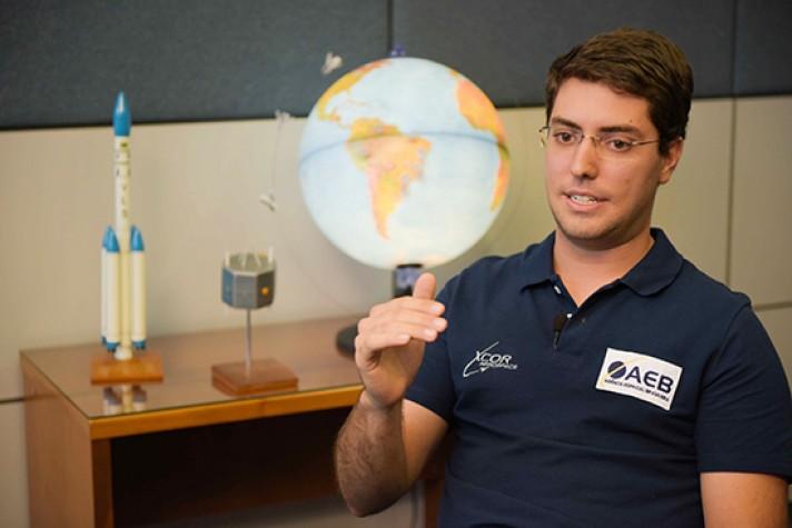 Pedro Nehme - estudante brasileiro que vai ao espaço