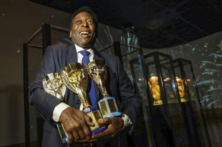 Com três títulos, Pelé é o jogador que mais ganhou Copa do Mundo