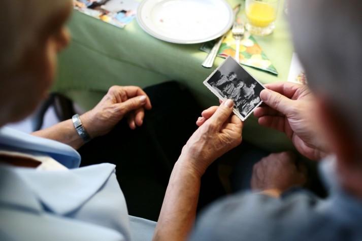 Foto lembrança - Dia dos Avós