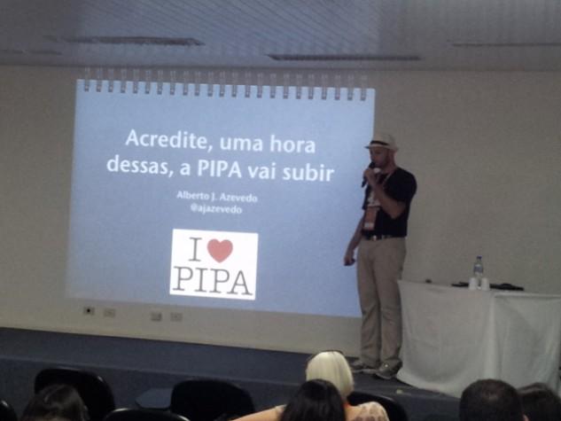 "Alberto Azevedo na palestra ""A PIPA vai subir"""