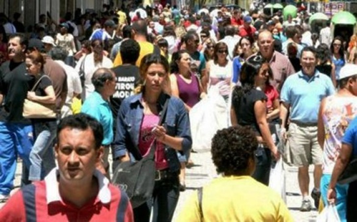 População brasileira chega a 194 milhões