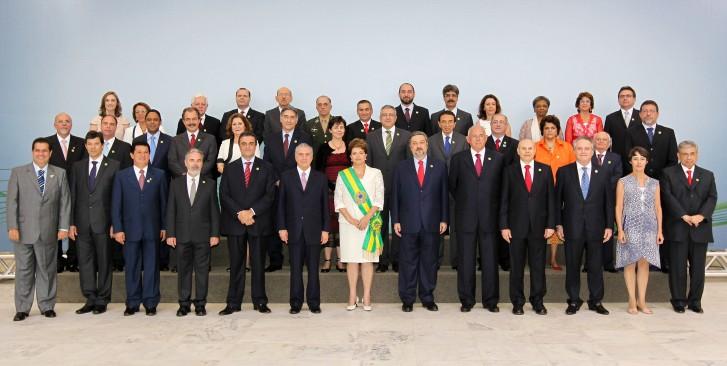 Posse dos ministros da Dilma em 2010