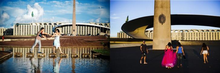 Praça dos Cristais Roteiro Brasília