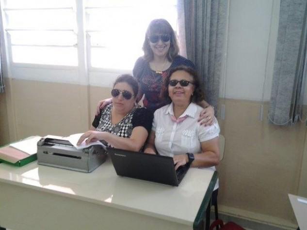 Foto de Janete Brandão de Moura Effting e Luciane Barbosa