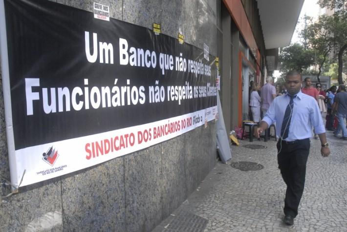 Protesto Santander