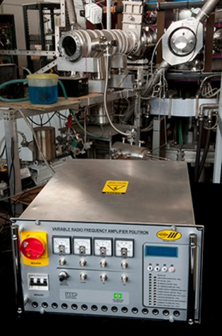 equipamento para fusão nuclear