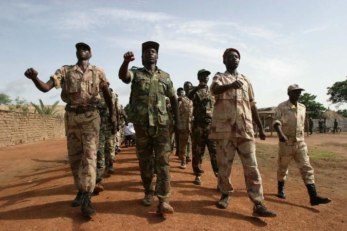 Rebeldes na República Centro-Africana