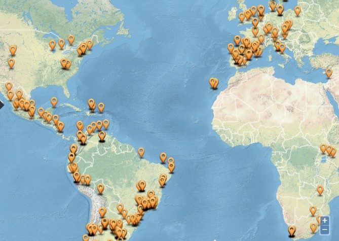 Reevo - mapa colaborativo