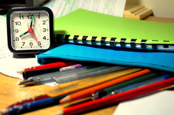 Enem cadernos relógio