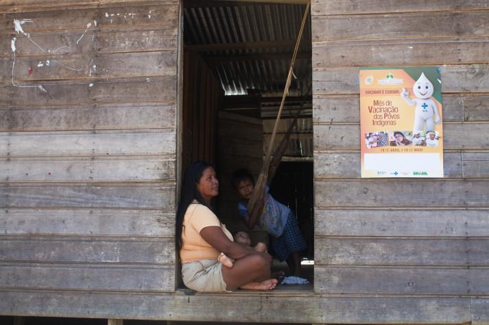 Mutirão de saúde indígena