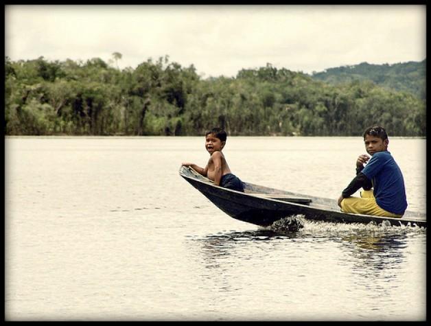 O Rio Amazonas é o segundo maior em extensão do mundo