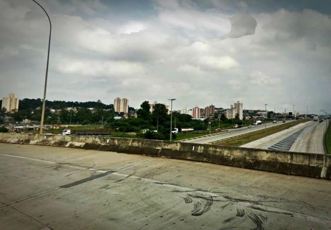 Viaduto no Rodoanel de São Paulo, Osasco, Quintaúna