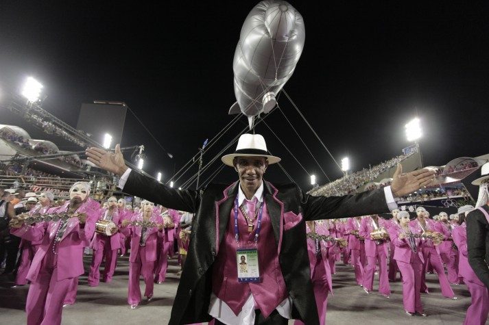 """""""Furiosa"""", a Bateria do Salgueiro - carnaval 2016"""