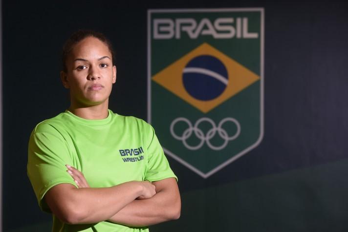 Aline Silva, luta olímpica