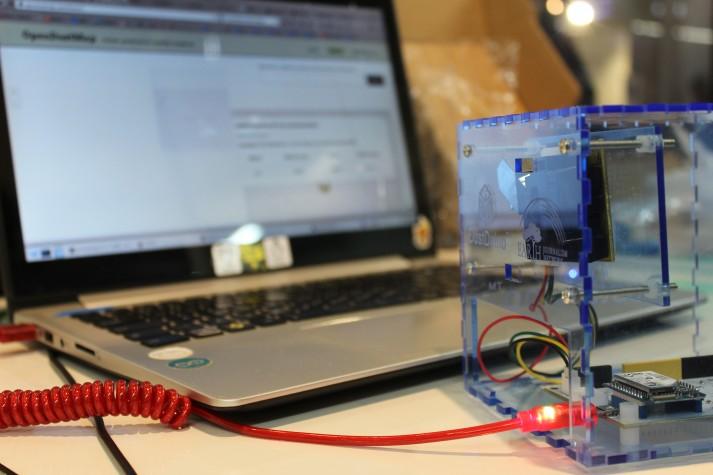 Sensor de qualidade do ar feito com arduino