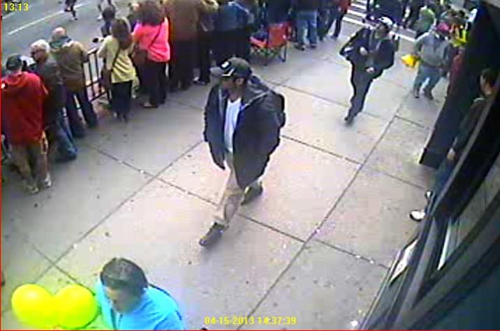 Suspeito em Boston