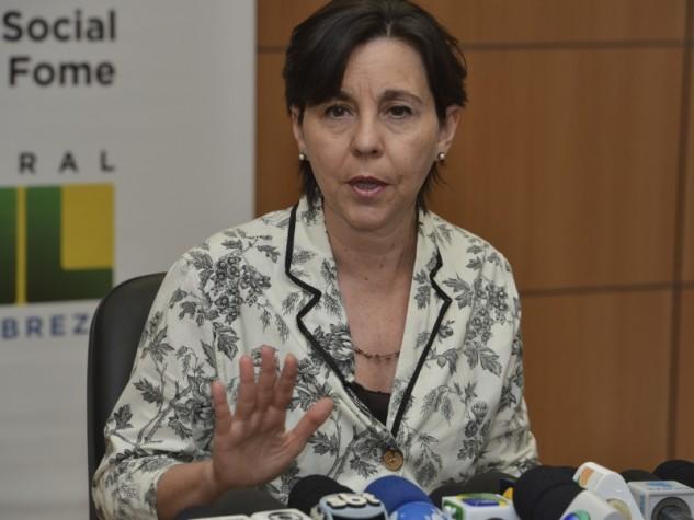 Entrevista da ministra Tereza Campello