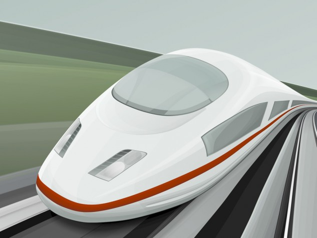 Trem-bala tem previsão de plena operação em 2020