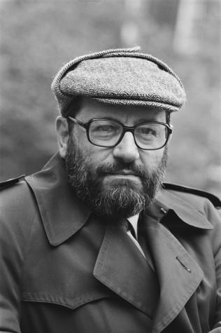Umberto Eco em foto de 1984