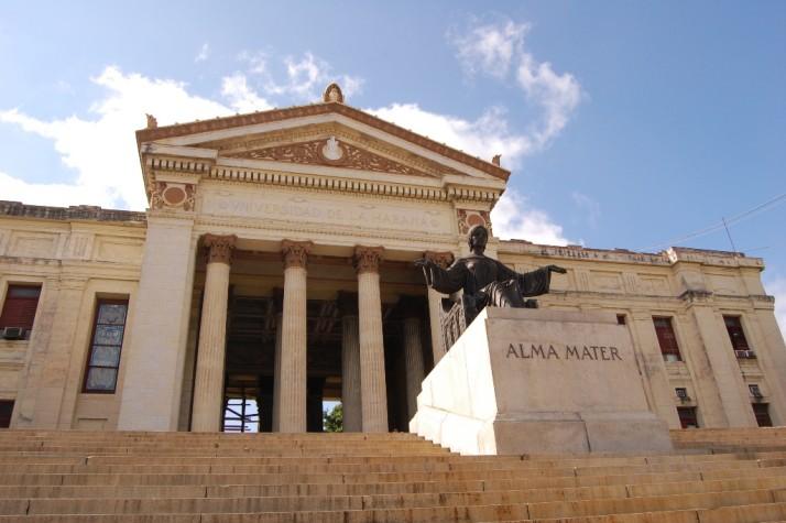 Universidade de Havana, em Cuba