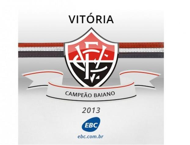Vitória empata com Bahia por 1 a 1 e é campeão baiano