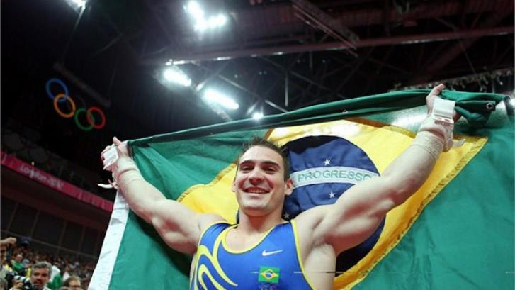 Zanetti comemora ouro olímpico